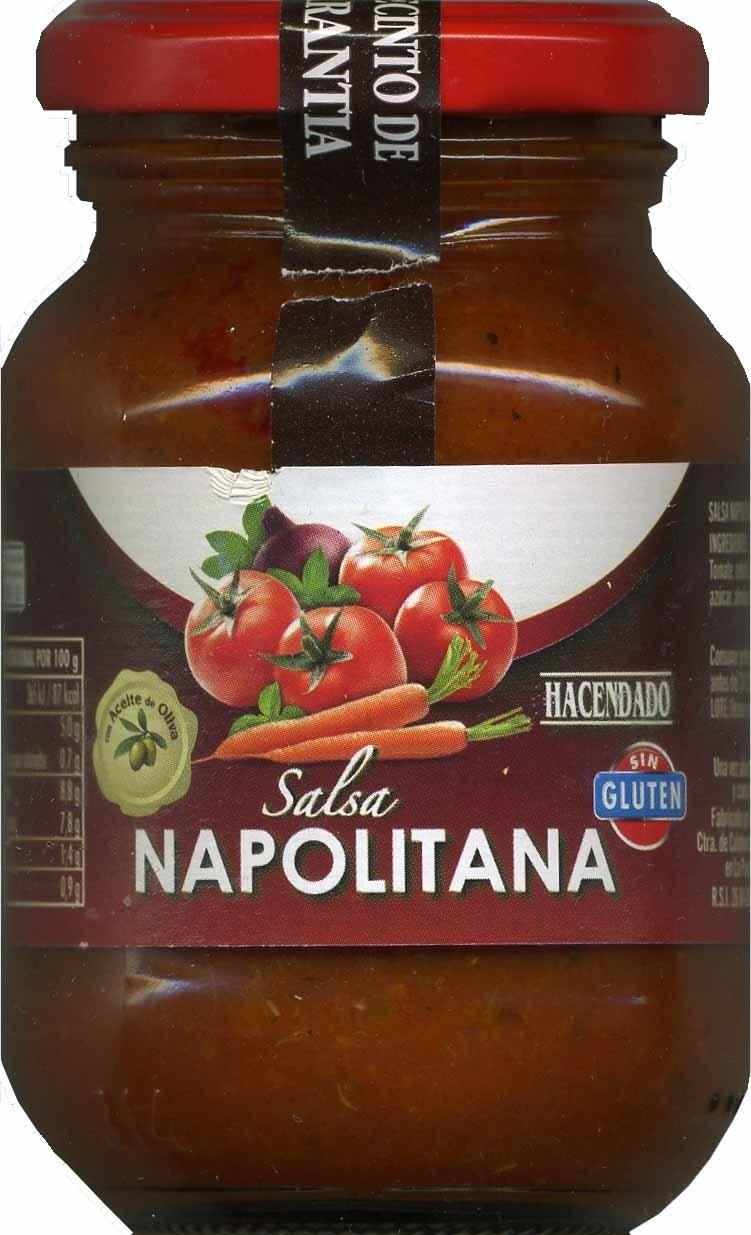 Salsa napolitana - Producte