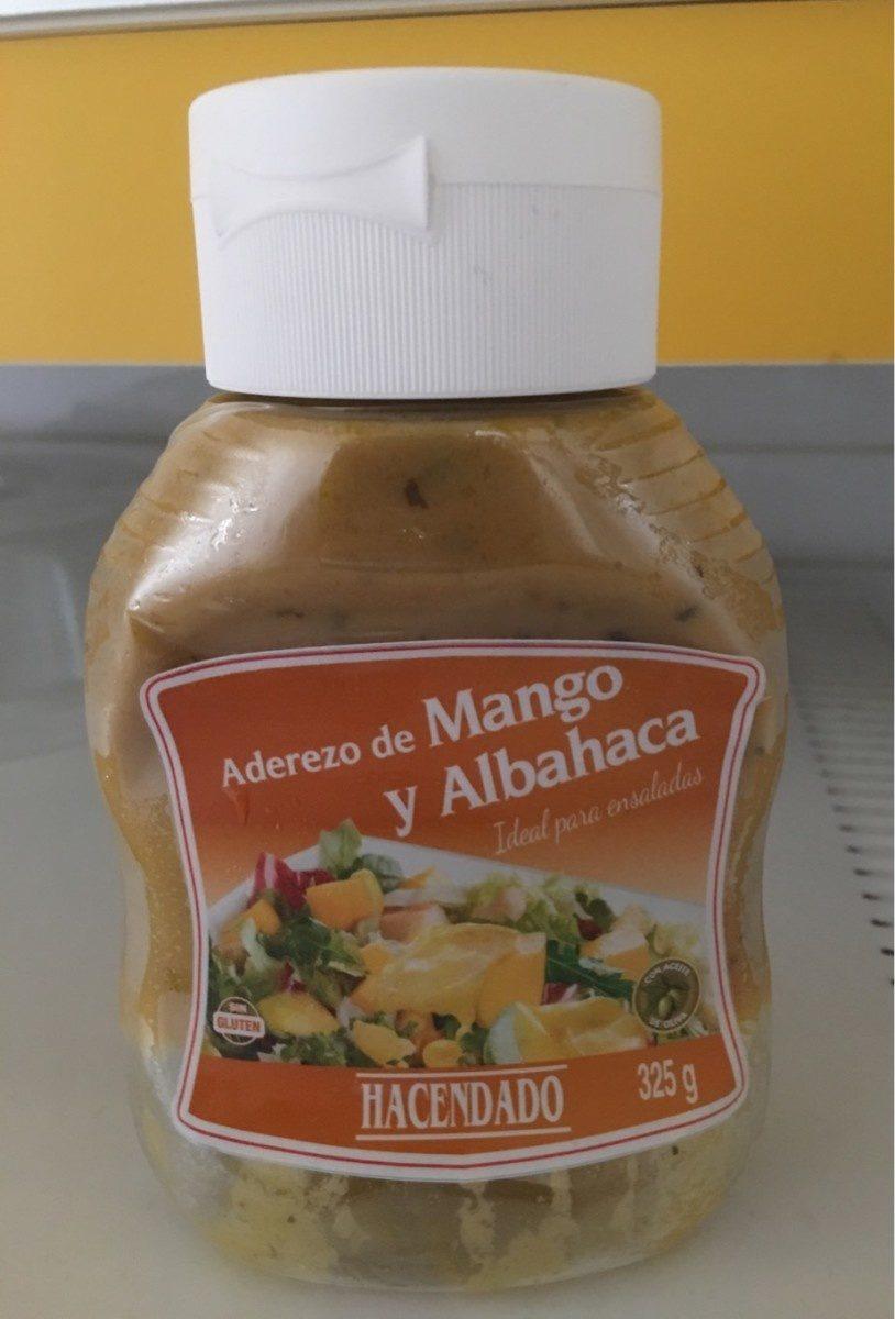 Aderezo de mango y albahaca - Producte