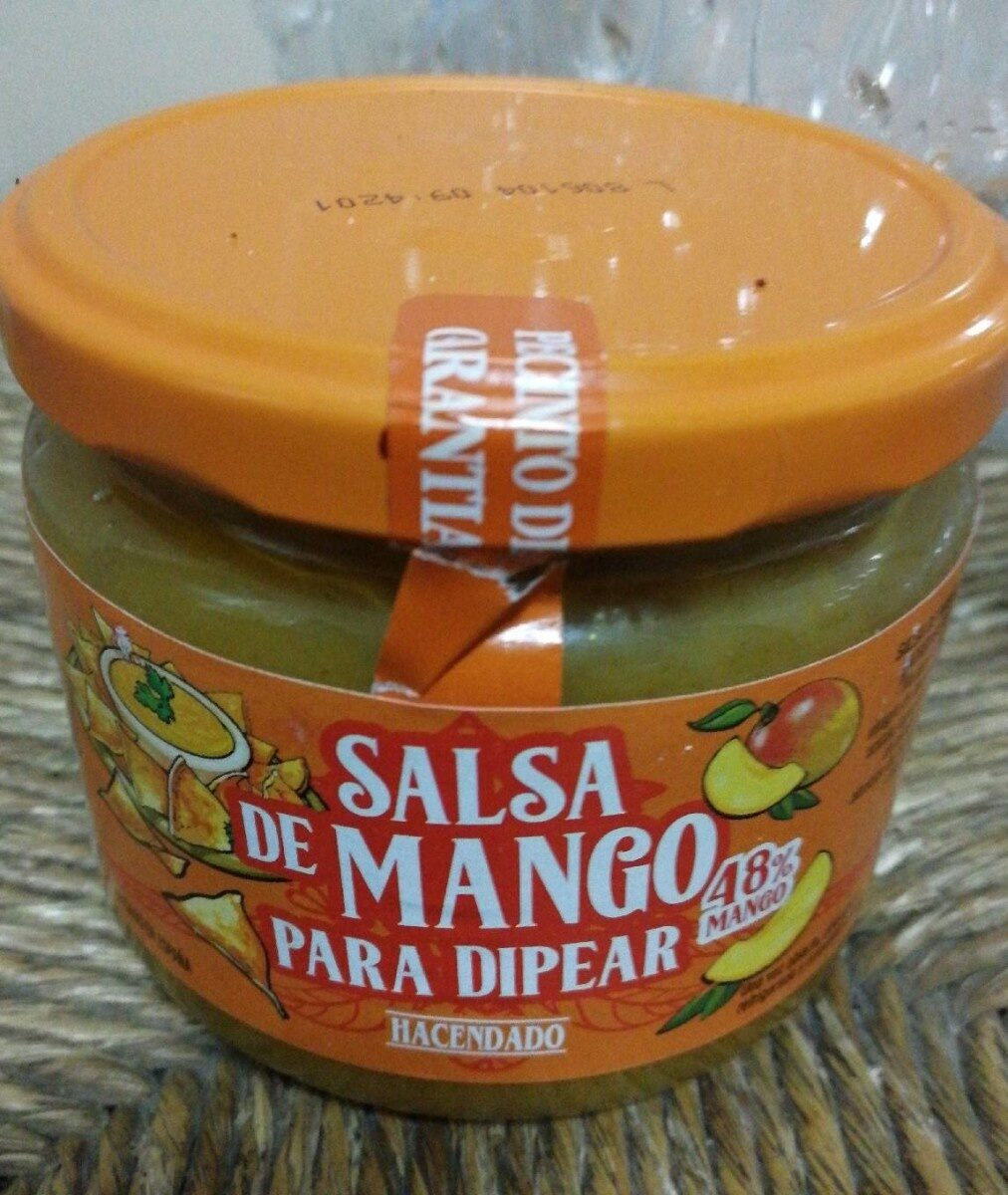 Salsa de mango para dipear - Producto