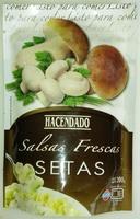 Salsas frescas setas - Produit