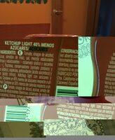 Ketchup light - Produit