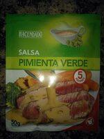 Salsa pimienta verde - Produit