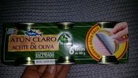 Atun claro en aceite de oliva - Producto