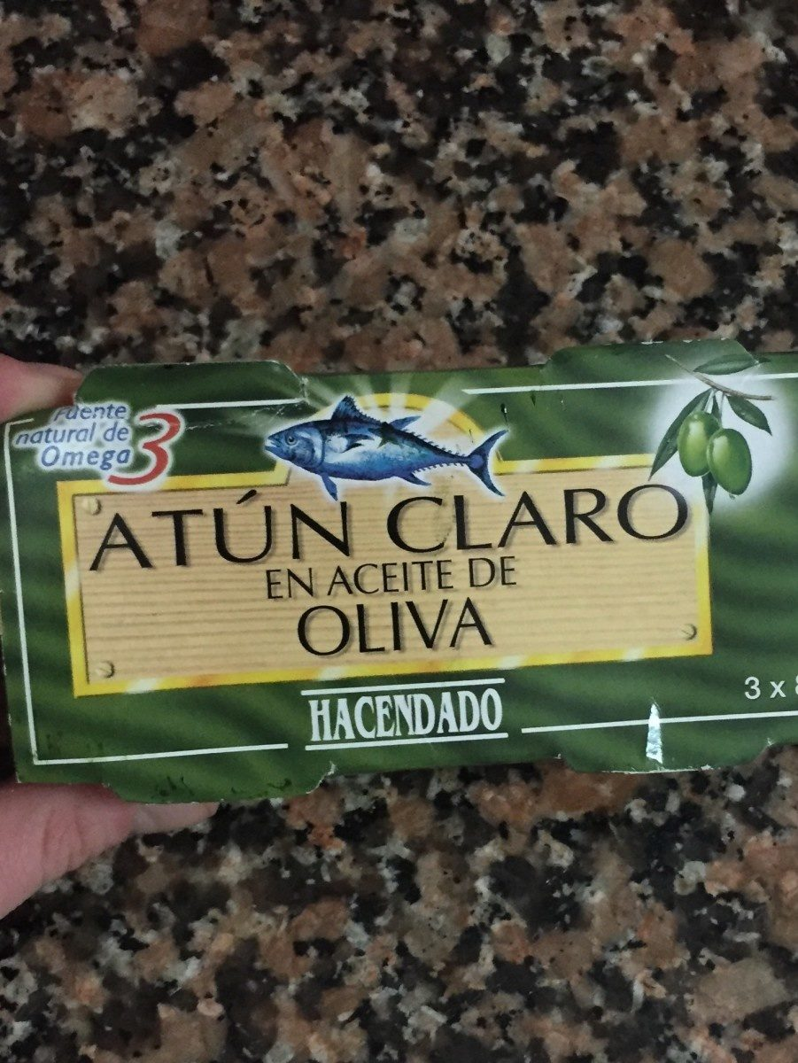 Atun claro aceite oliva - Produit