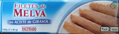 Filetes de melva en aceite de girasol - Producte