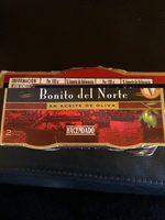 Bonito del Norte en aceite de oliva - Informations nutritionnelles