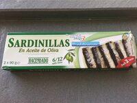 Sardinillas en aceite de oliva - Producte