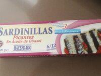 Sardinillas picantes - Produit