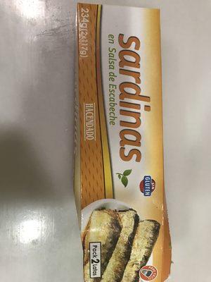 Sardinas en salsa de escabeche - Producte