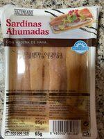 Sardinas ahumadas - Producte