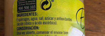 Hacendado Esparragos, Spagel - Ingredients