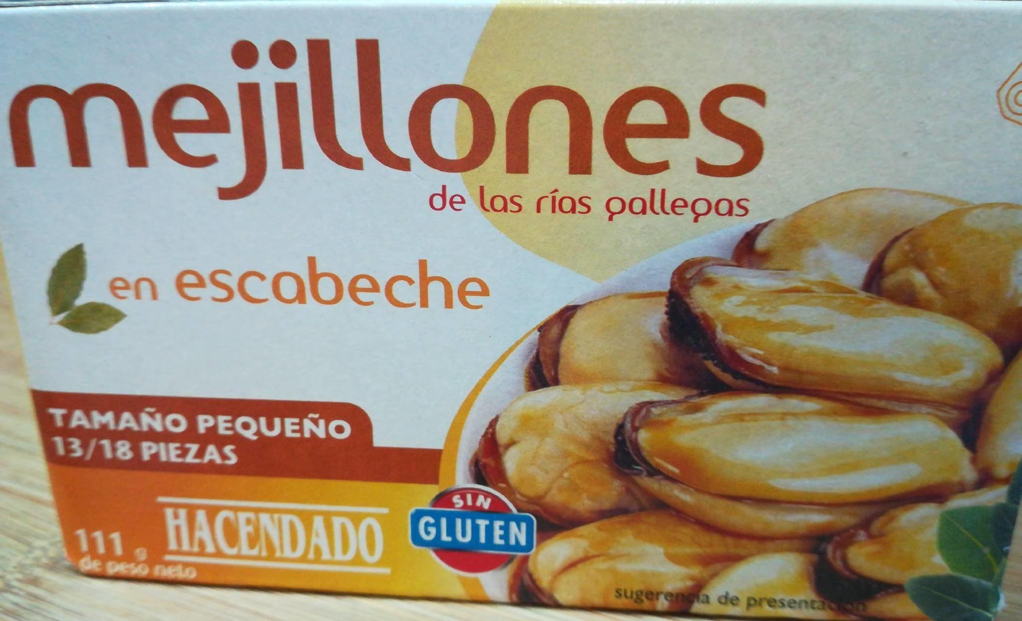 Mejillones en escabeche con aceite de girasol - Producto