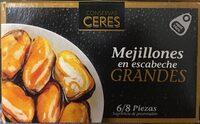 Mejillones en escabeche - Producto