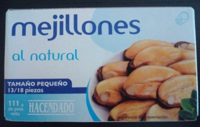 Mejillones al natural - Product - es
