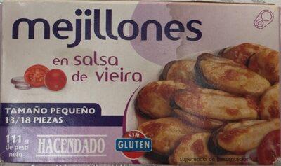 Mejillones en Salsa de Vieira - Produit