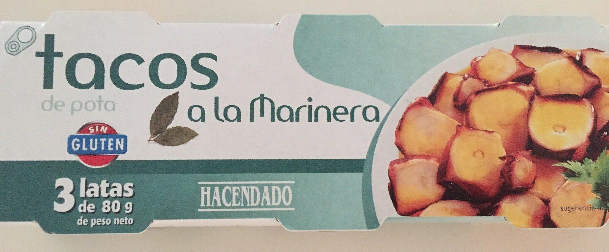 Tacos De Pota Marinera - Produit