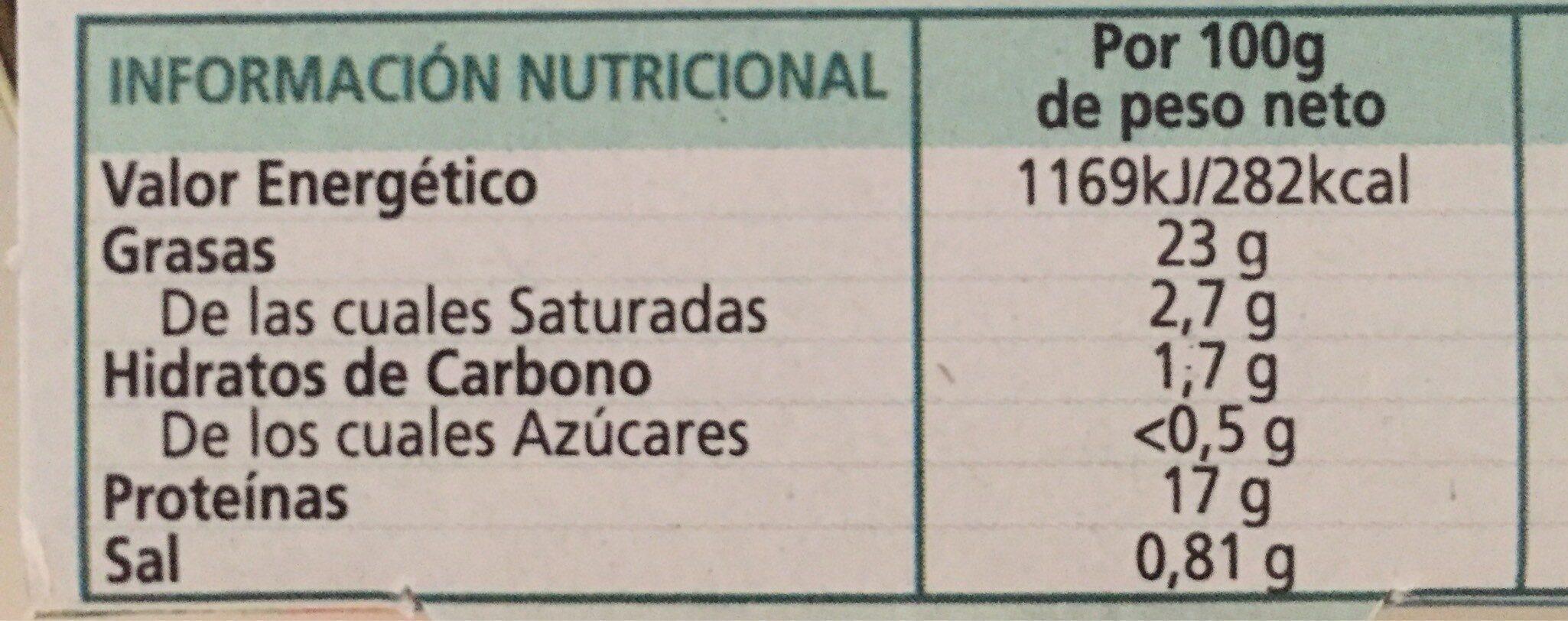 Tacos De Pota Marinera - Informations nutritionnelles