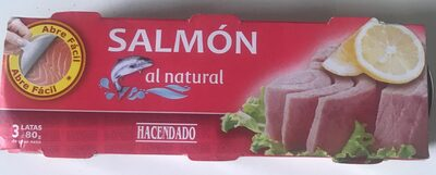 Salmón al natural - Producte