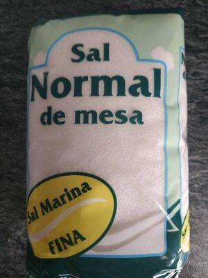 Sal normal de mesa - Producto - es