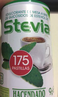 Stevia en pastillas - Ingrédients