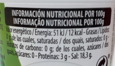 Stevia en pastillas - Información nutricional - es