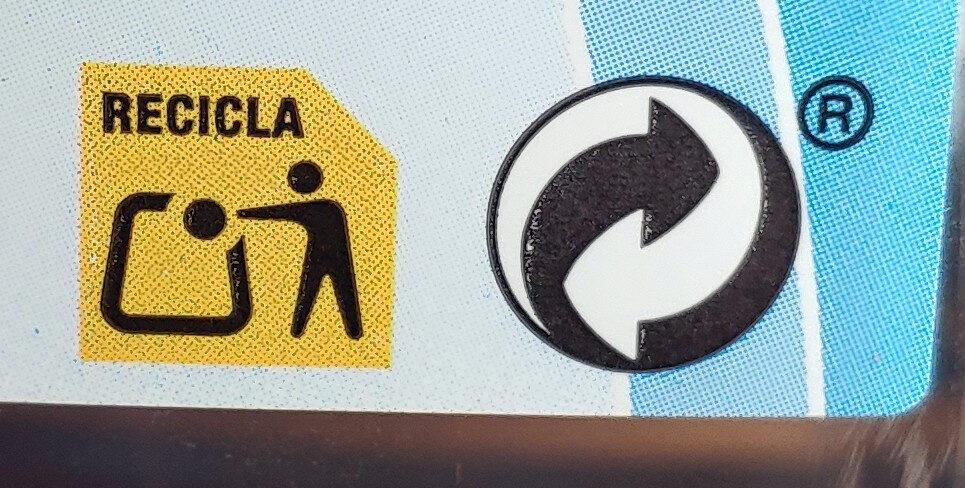 Ciclamato y sacarina líquida - Instrucciones de reciclaje y/o información de embalaje - es
