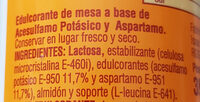 Aspartamo - Ingrédients - es