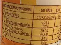Aspartamo - Informations nutritionnelles