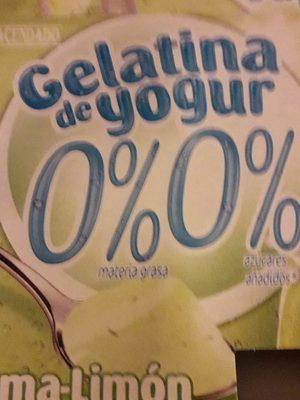 Gelatina de yogur - Product