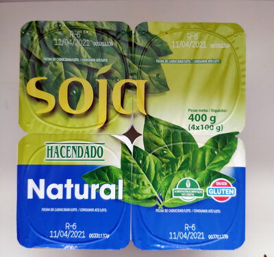 Soja natural - Prodotto - es