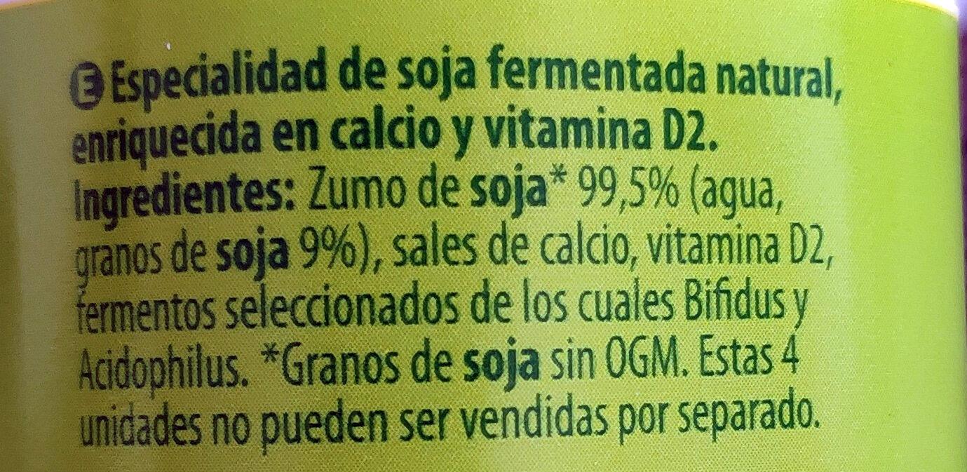 Soja natural - Ingredienti - es