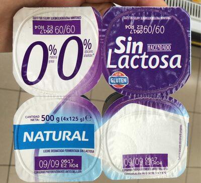 0% sin lactosa