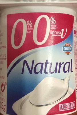 Yogur natural 0% - Producto - es