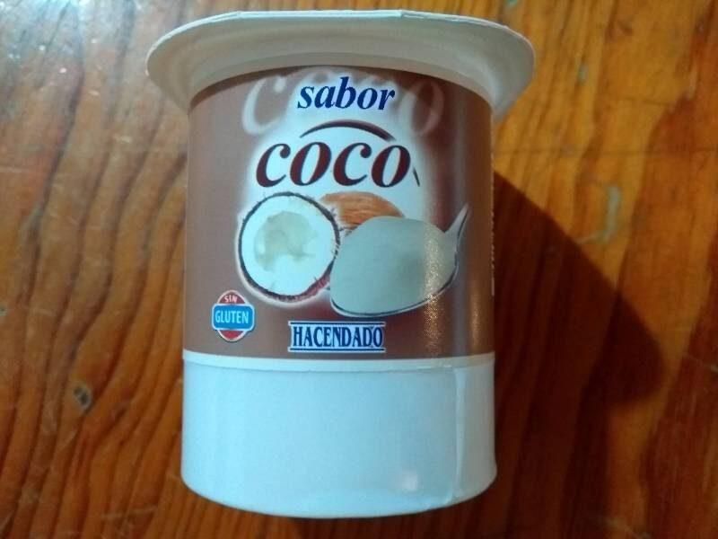 Yoghurt sabor coco - Produit