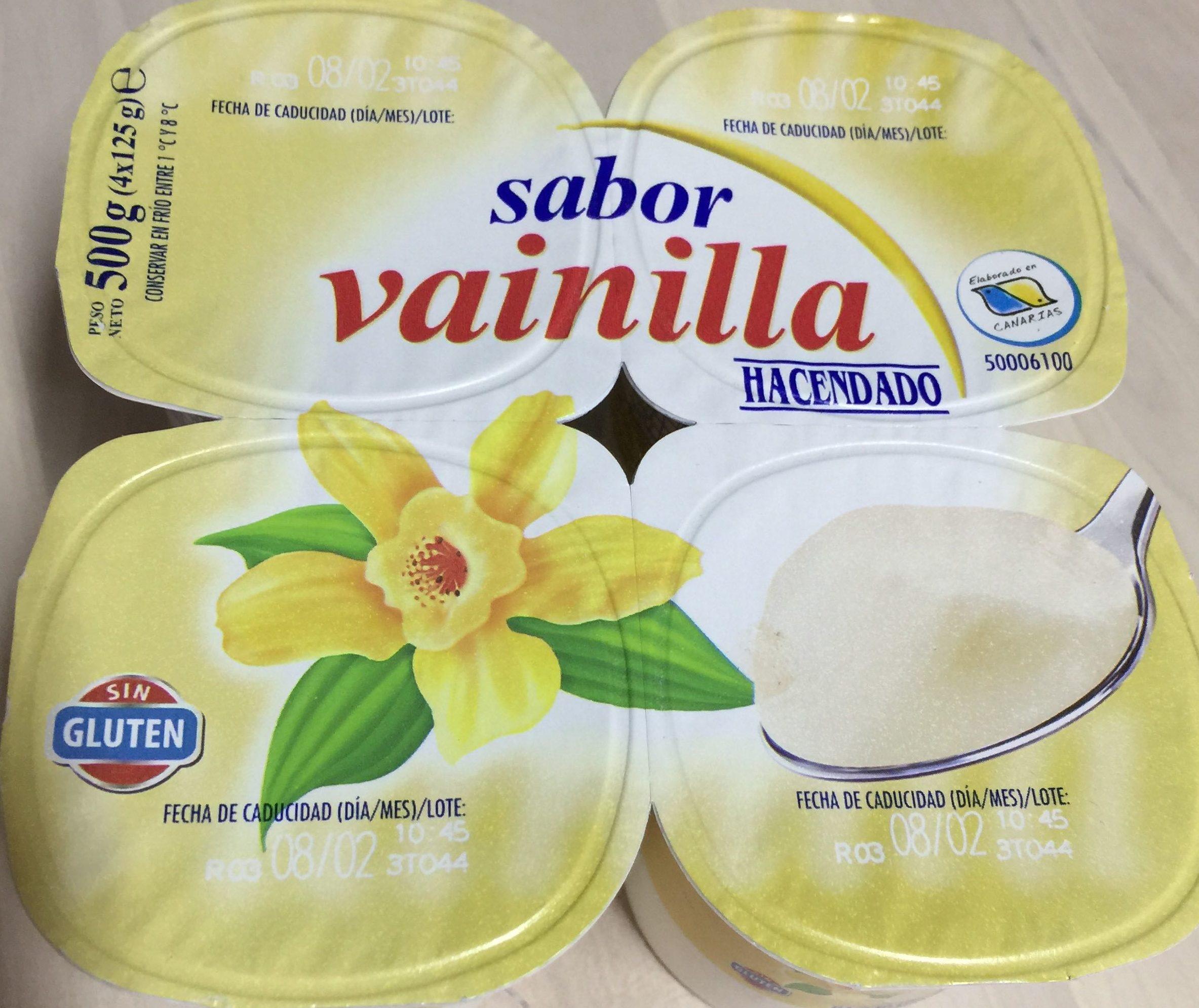Yogur vainilla - Producto - es