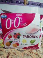Yogures 0% sabores - Product - es