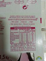 Yogures 0% sabores - Nutrition facts - es