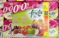 Yogur con fruta 0% - Produit - fr