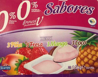 Yogurt 0% Sabores
