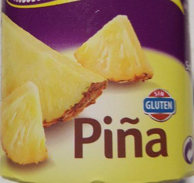 Bífida 0% 0% Piña - Ingrediënten