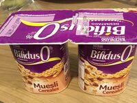 Bifidus 0% muesli cereales - Producto