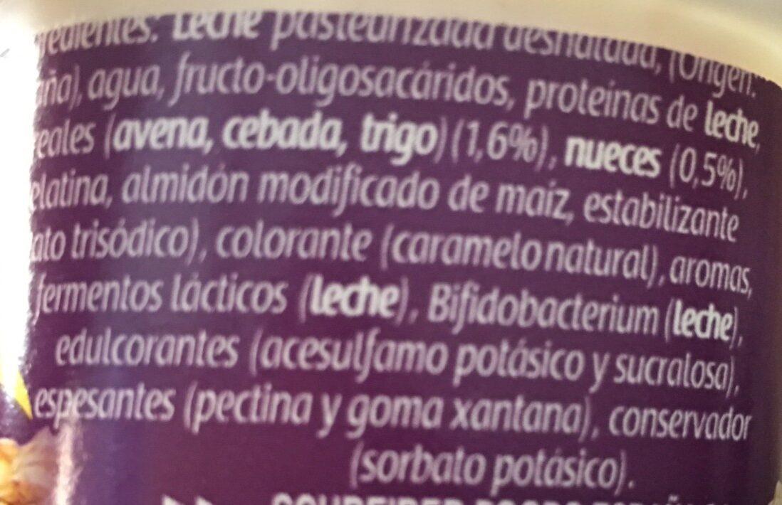 Bifidus - Ingrediënten - es