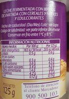 Bifidus - Voedingswaarden - es