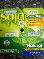 Soja natural azucarado - Product