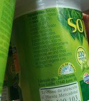 Yogurt soja - Ingrédients - fr
