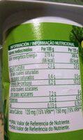 Yogurt soja - Informations nutritionnelles - es