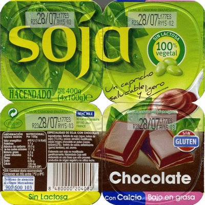 Soja con chocolate - Product - es