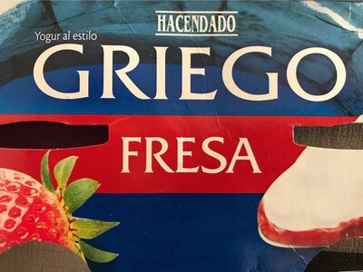 Griego Fresa - Product