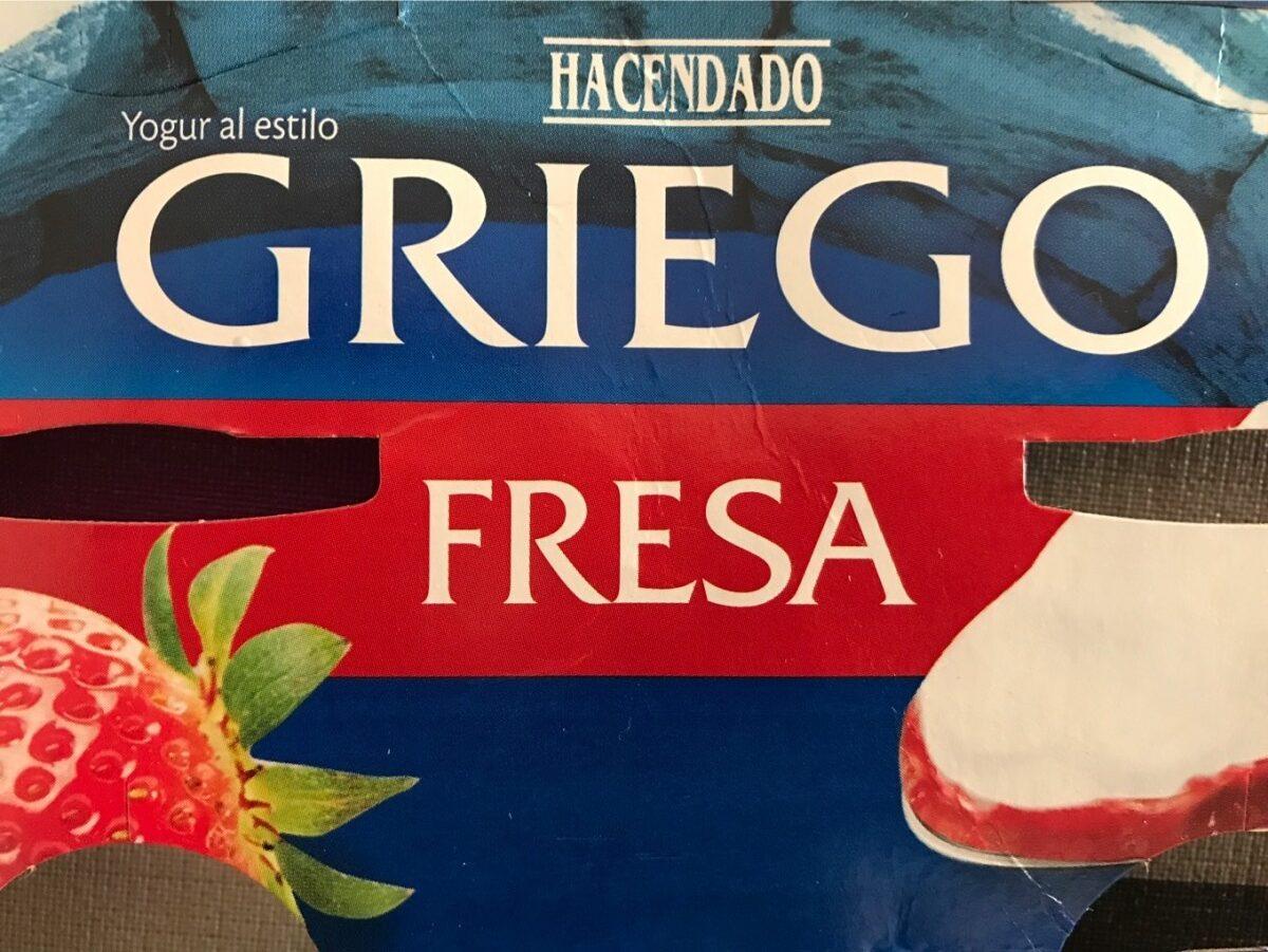 Griego Fresa - Producte