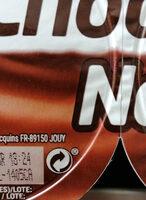 Chocolate nata - Recyclinginstructies en / of verpakkingsinformatie - es